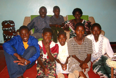 Davison Ndhlovu Family